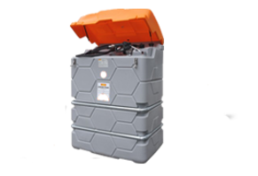 Station GO CUBE CEMO outdoor 1000 litres Gasoil, GNR, Fuel