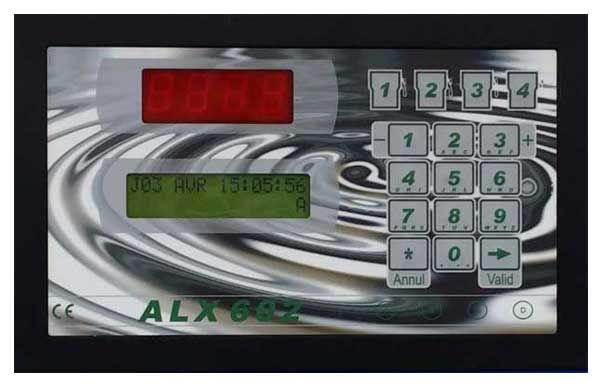 Borne de gestion de carburant ALX 602