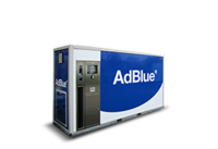 Cuve adblue en container