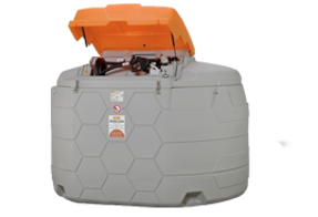 Station GO CUBE CEMO outdoor 5000 litres Gasoil, GNR, Fuel
